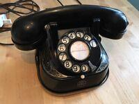1950s Bakelite Telephone