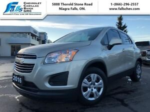2016 Chevrolet Trax LS  BLUETOOTH,LOCAL TRADE,ONE OWNER