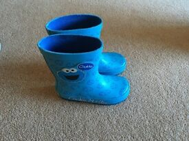 4 Pairs of Size 8 Toddler Boys Next wellies and Mothercare Shoes