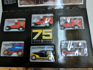 Die-cast car set by Matchbox for Canadian tire
