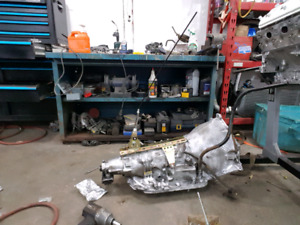 4L80E 2WD Transmission with Aftermarket shifter and more
