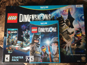 Lego Dimensions Starter Pack Wii U. Barely used