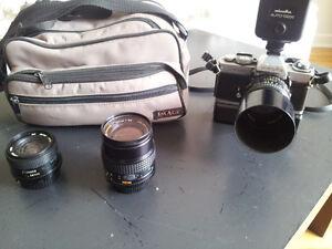 appareil photo,lentilles ect