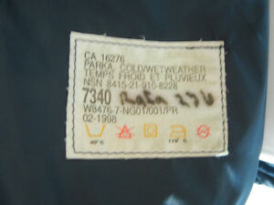 ROYAL CANADIAN AIR FORCE GORETEX COLD WEATHER JACKET Kawartha Lakes Peterborough Area image 3