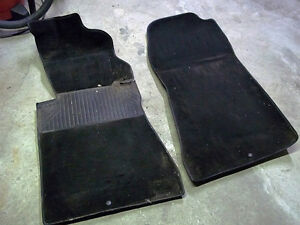 Mercedes W201 Front Left and Right Carpet Floor Mat