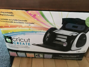 Cricut machine and cartridges