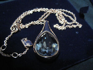 """Swarovski ""  Blue Crystal  Brand New."