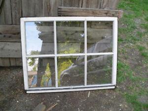plusieurs fenêtre antiques a vendre