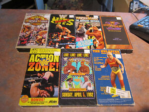 7 WWF VHS Videos For Sale $20 For All!!