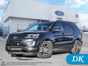 2017 Ford Explorer Sport AWD **Qualifies For New Incentives!**