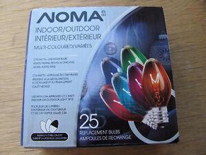 BRAND NEW - C7 /5 watt Replacement Bulbs ( multi )