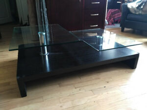 Stylish Glass Coffee table - Kits Point