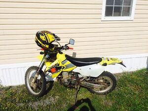 2002 DRZ400  - street and trail