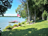 Spectacular waterfront at year round home on Mink Lake!