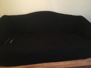 Perfect condition couch and love seat with covers