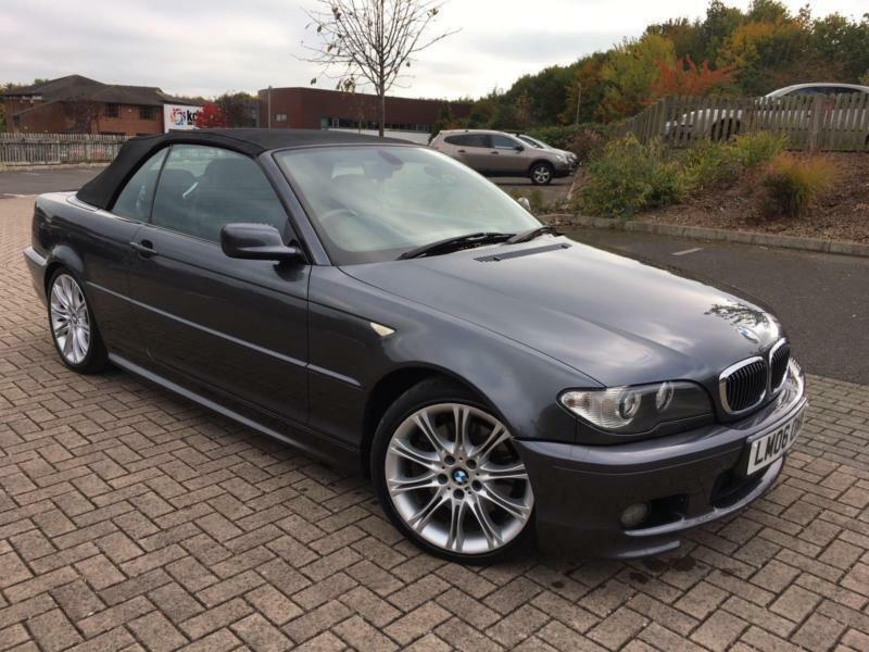 2006 06 BMW 330Ci 3.0 M Sport Auto Grey Metallic, 119k