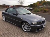 2006 06 BMW 330Ci 3.0 M Sport Auto Grey Metallic, 119k