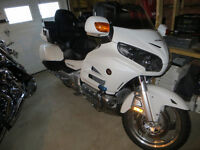 2014 Honda goldwing with nav and abs loaded
