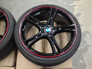 Original BMW DOUBLE SPOKE 361 wheelset / extra RFTs available