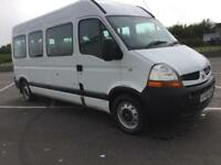 2008 58 PLATE Renault MASTER 2.5 DIESEL MINI BUS WITH NIGHT HEATER