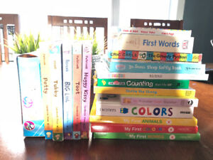 Baby books - excellent condition