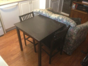 Small Kitchen Table w/ Two Chairs