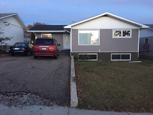 3 bedroom house (upper level), available June 1st or after