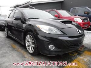 2012 MAZDA MAZDASPEED3  4D HATCHBACK 6SP