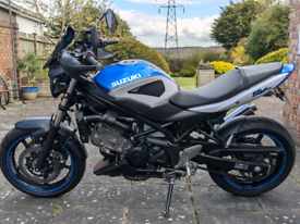 SV650 2018 low miles excellent condition