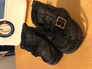 Baby Ralph Lauren Leather Shoes - cleaned like new!