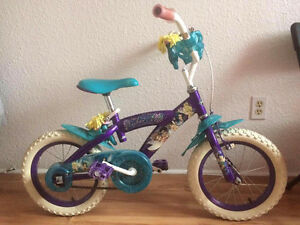 Tinker bell Girls bike 14 inch