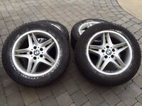 4 winter tires 255/55r18 in very good condition! Only 350