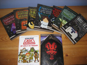 Origami Yoda Book Set + Star Wars books - excellent condition !