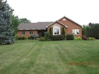 Rare Country Property-Beautiful Brick Bungalow on two acre lot