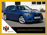 2014 BMW 1 SERIES 116d M SPORT 5 DOOR (NOT 120d NOT 118d) LOW MILAGE FSH