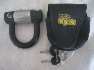 OnGuard Motorcycle/Scooter/Bike Disc Lock.