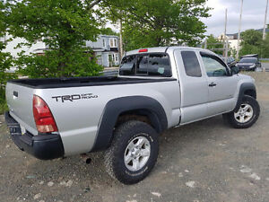 2007 Toyota Tacoma Access Cab Pickup Truck 4x4 manual 2.7 v4
