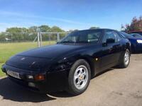 PORSCHE 944 2.7, Black, Auto, Petrol, 1989