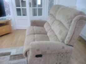 Two seater recliner seater
