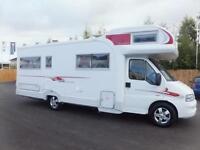 autocruise sarasota six berth motorhome for sale