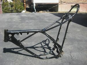 Honda CR125M Elsinore 1975 Frame Only