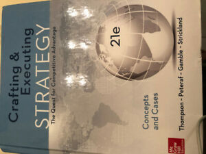 crafting and executing strategy 19th edition case solutions