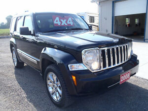 2008 Jeep Liberty Limited 4x4