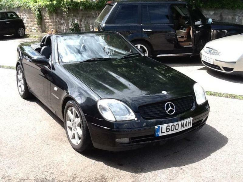 Mercedes benz slk kompressor 2 3 auto kompressor in for Mercedes benz swansea