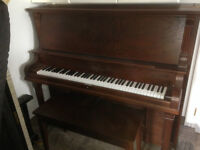 Totally restored 1908 Bell piano
