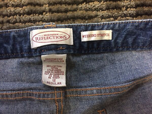 Ex Used Cond 2 Pairs Northern Reflect Jeans Size W12