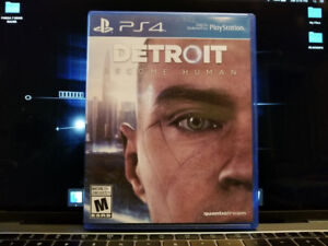 PS4 Games - Detroit:Become Human, Project Cars 2, Farcry 5