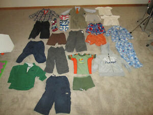 Lot of baby boy 2T (24 months) clothes 25+ pieces bag #12