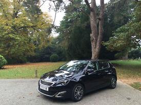 Peugeot 308 1.6 Blue HDI S/S ( 120bhp ) Allure 5 Door Hatchback *Zero Road Tax*