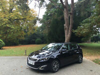 Peugeot 308 1.6 Blue HDI S/S ( 120bhp ) Allure 5 Door Hatchback *Zero Road Tax*